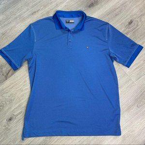 Callaway Opti-dri Blue Golf Polo Shirt